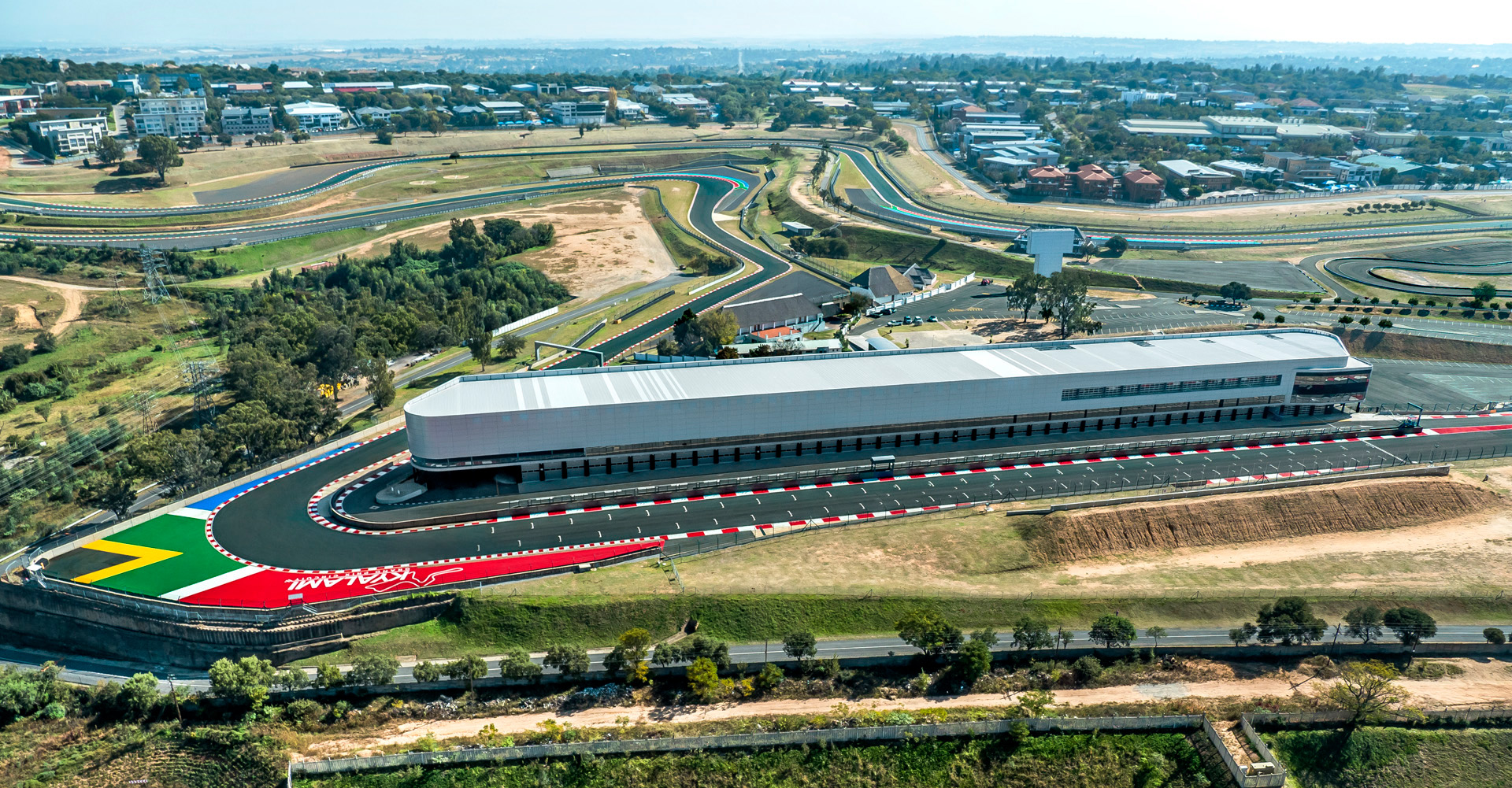 C. Kyalami International Convention Centre, Ingwe Corner & Main Straight